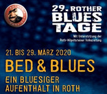 Bed & Blues-Flyer/Ausschnitt