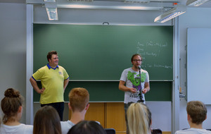 Poetry Slam Workshop im Gymnasium Roth